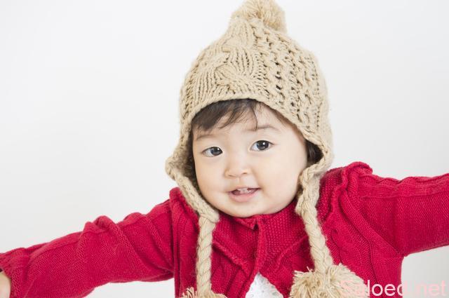 ウール セーター 帽子 幼児