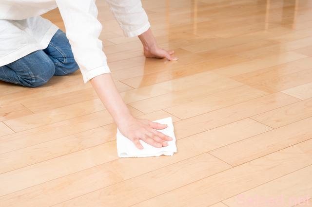 床 フローリング 拭き掃除